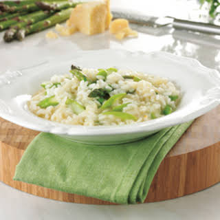 Asparagus Risotto With Chervil.
