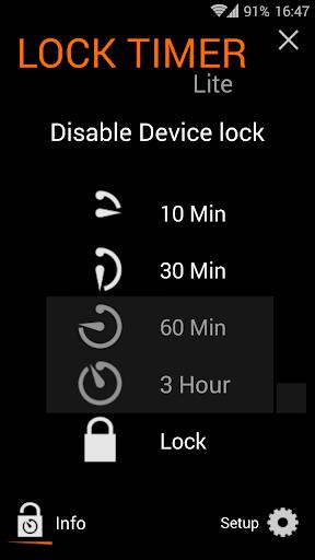 Lock Timer Lite