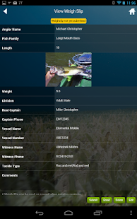 iAngler by Angler Action- screenshot thumbnail