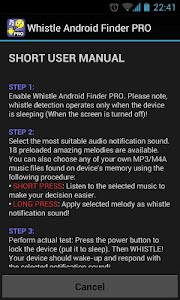 Whistle Android Finder PRO v5.4