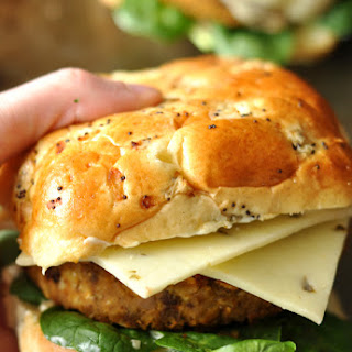 Butternut Black Bean Burgers
