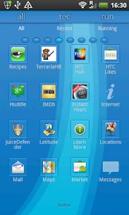 GO Launcher Ex Theme Serica - screenshot thumbnail