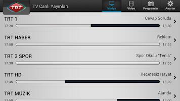 Screenshot of TRT Televizyon