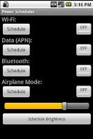 Screenshot of Power Scheduler