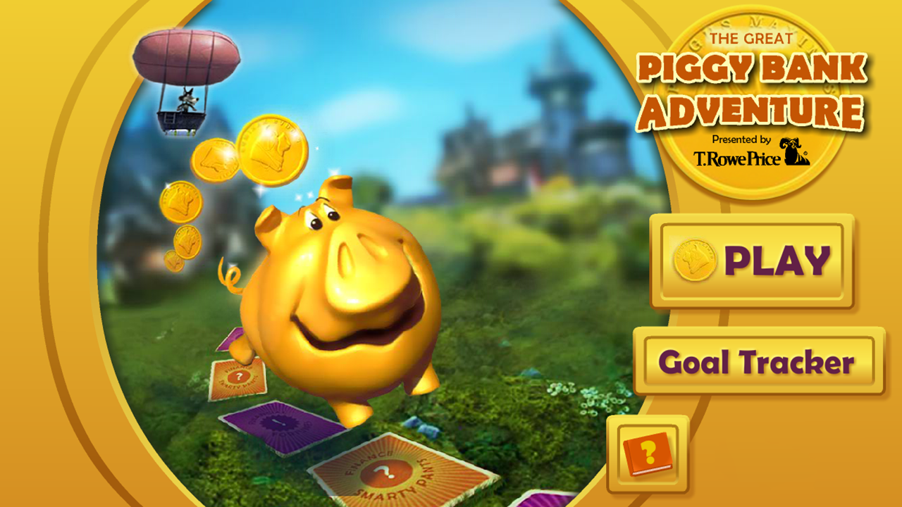 The Great Piggy Bank Adventure - screenshot
