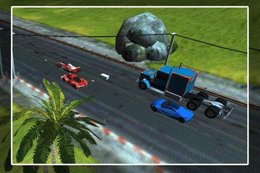 汽車交通賽車遊戲
