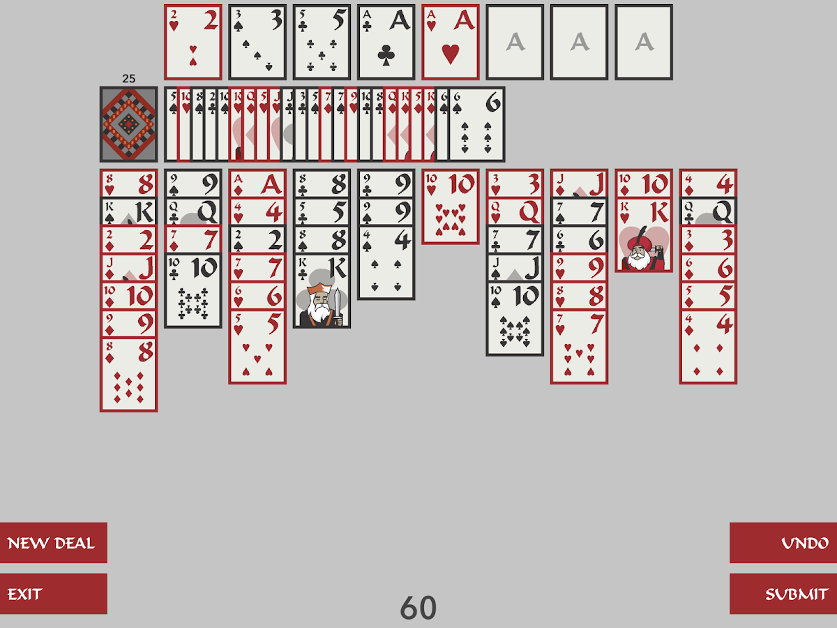 Forty Thieves Solitaire- screenshot