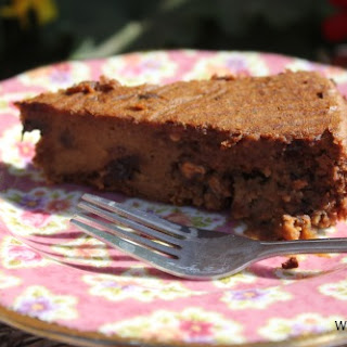 Chocolate Peanut Butter Bean Cake