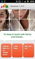 Screenshot of Take the Test