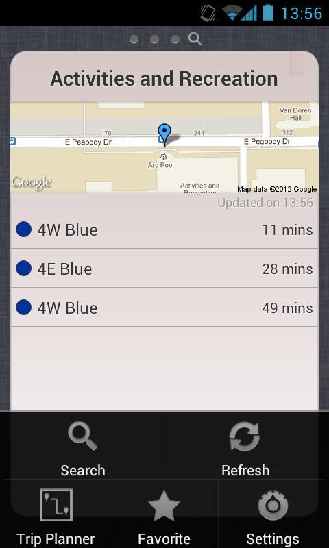 Transit - CUMTD- screenshot