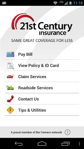 21st Policy Self-Service App