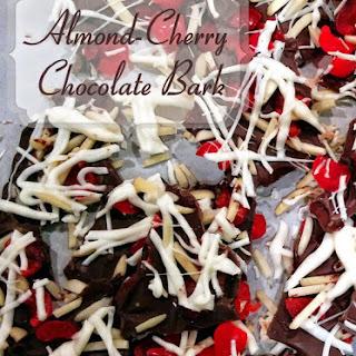 Almond-Cherry Chocolate Bark - Easy