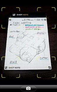 SHOT NOTE- screenshot thumbnail