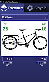 Bicycle Tire Pressure Calc- screenshot thumbnail