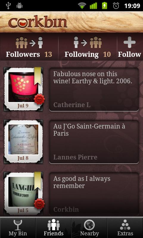 Corkbin for Wine - screenshot