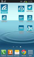 Screenshot of MEO WiFi