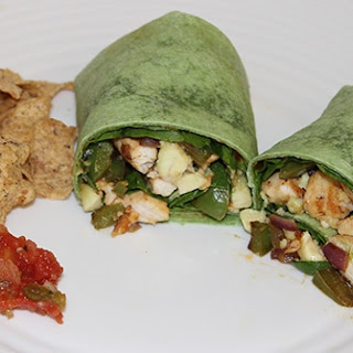 Spicy Chicken Avocado Wrap Edit