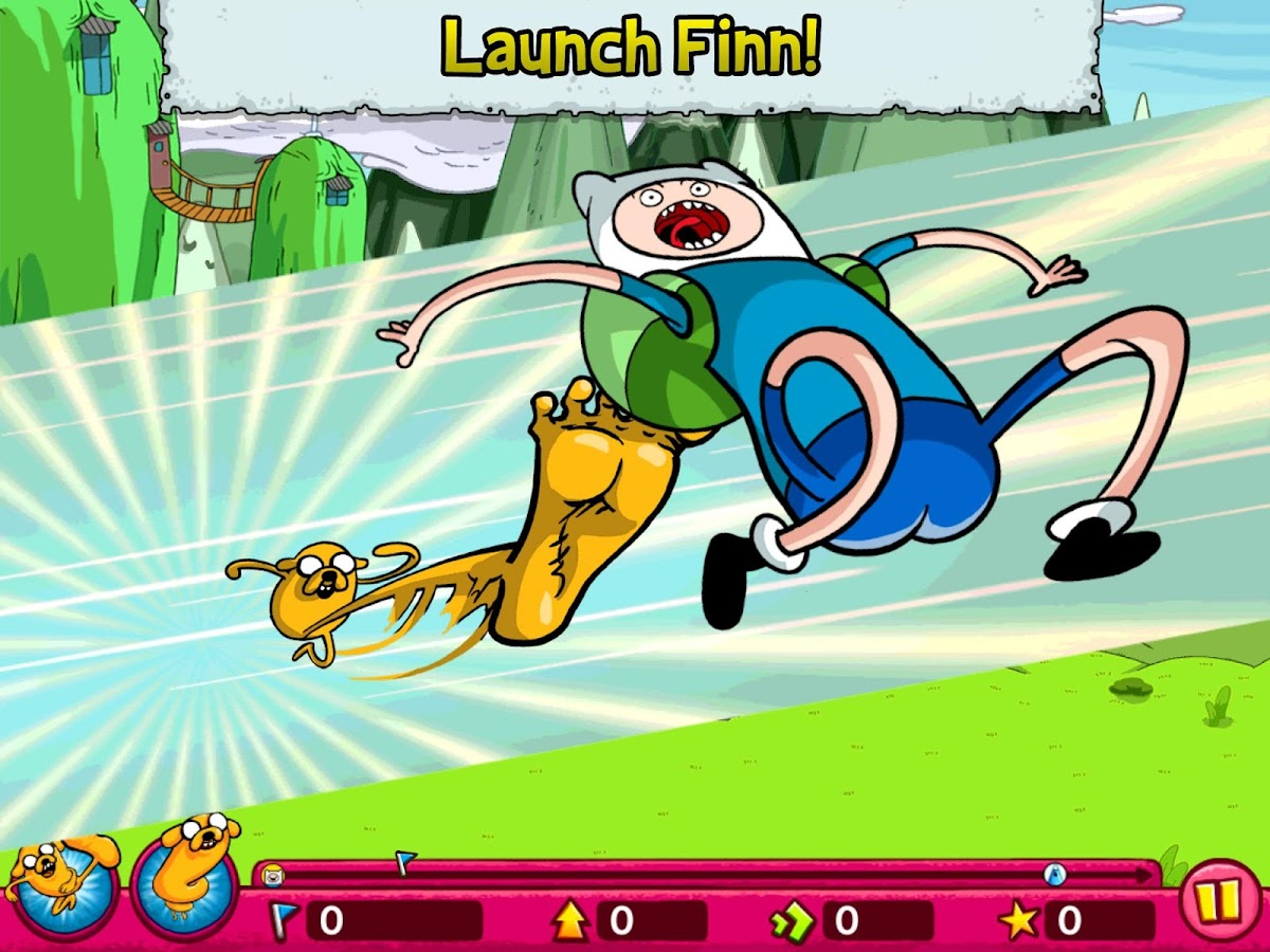 Jumping Finn Turbo - screenshot