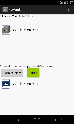 ezVault: Safe Password Manager
