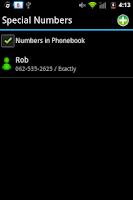 Screenshot of Outgoing Call Blocker