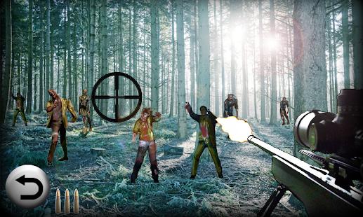 狙擊遊戲 - 殭屍射擊