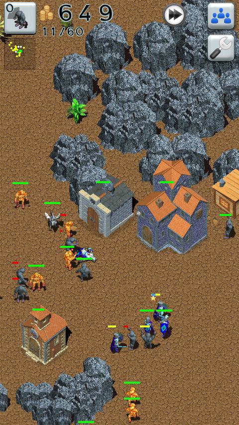Defense Craft Strategy Free - screenshot