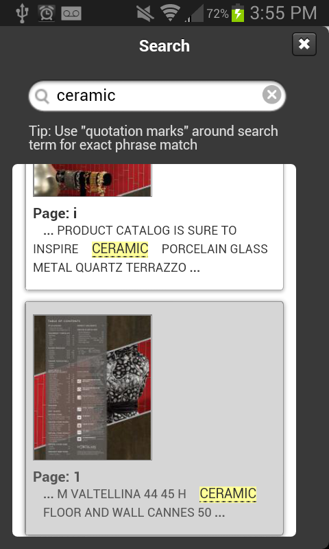 Daltile Product Catalogs - screenshot