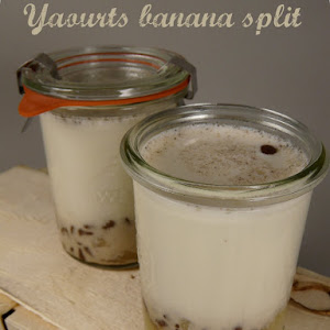 Banana Split Yogurt