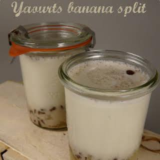 Banana Split Yogurt.