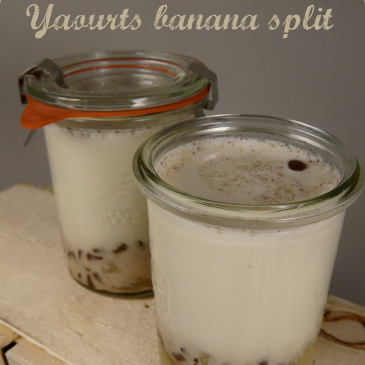 Banana Split Yogurt