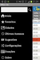 Screenshot of WBUS