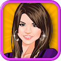 Game Selena Gomez Celebrity Dressup APK for Kindle