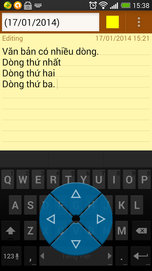 Laban Key: Gõ tiếng Việt - screenshot