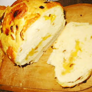 Onion, Garlic, Cheese Bread.