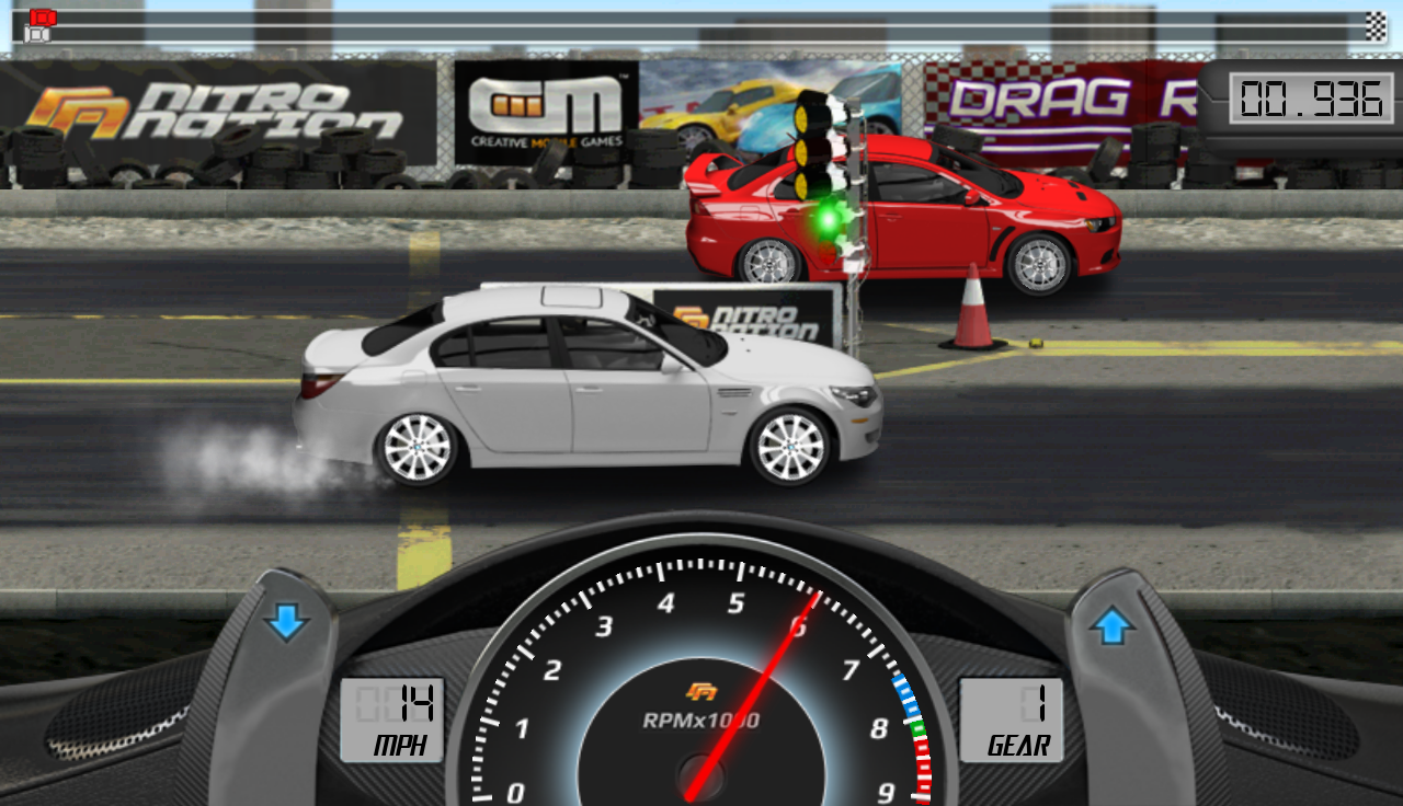 Drag Racing- screenshot
