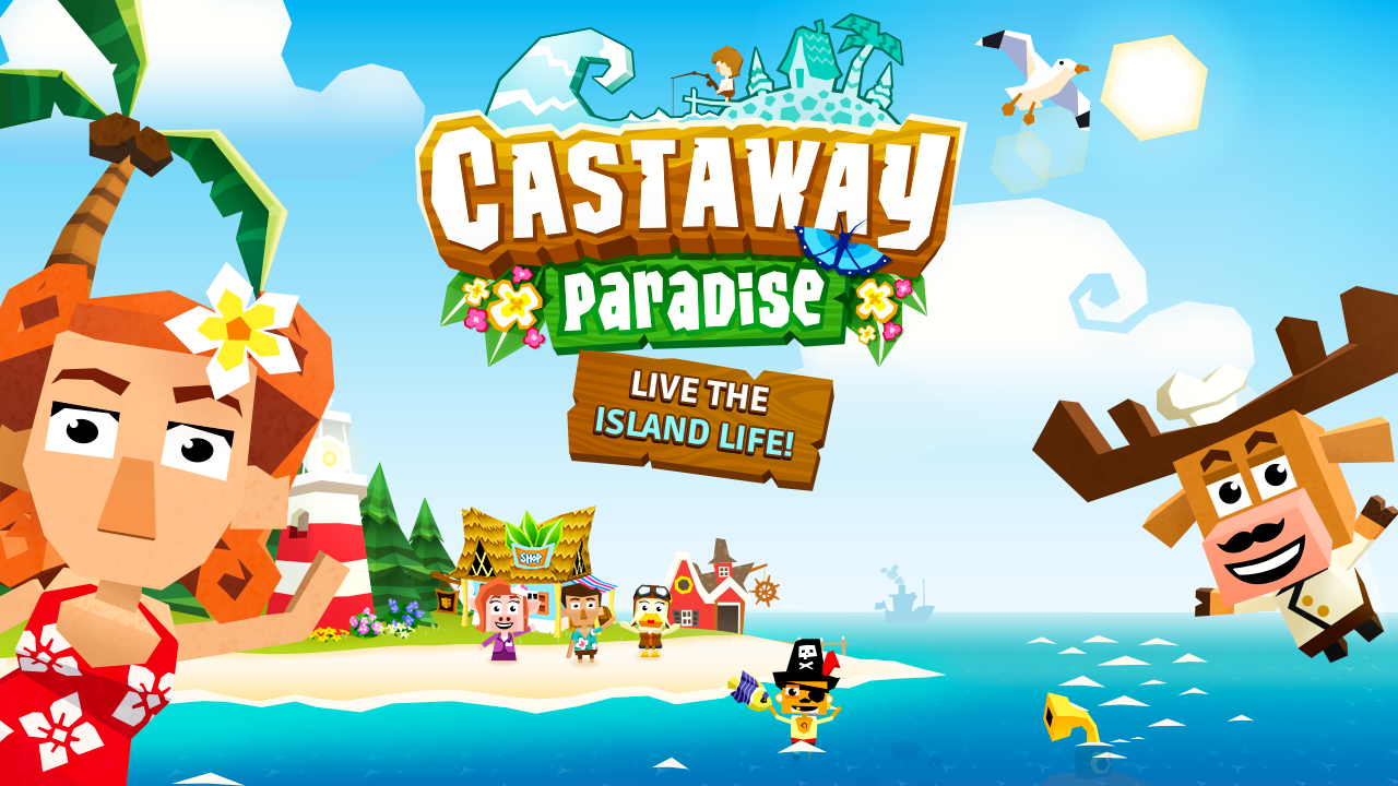 Castaway Paradise - Harvest, Animal Island Town- screenshot