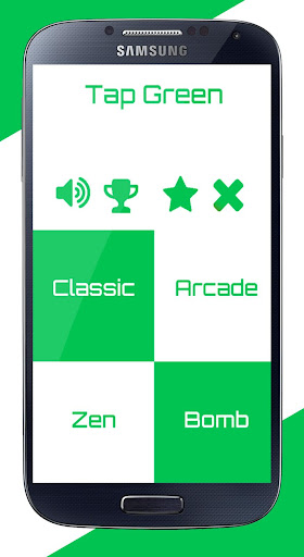 Tap Green - Piano Tiles