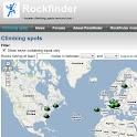 Rockfinder logo