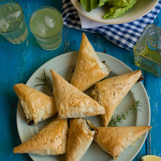 Zesty Spinach And Feta Pies ~ My Version Of Spanakopita
