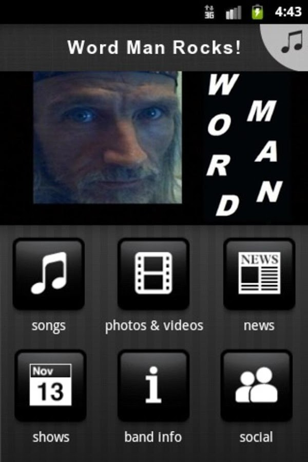 Word Man Rocks! - screenshot