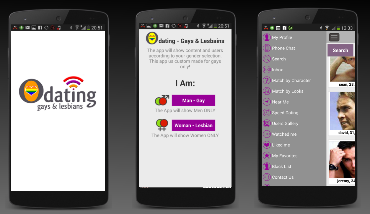 Odating Gays & Lesbians Dating- screenshot