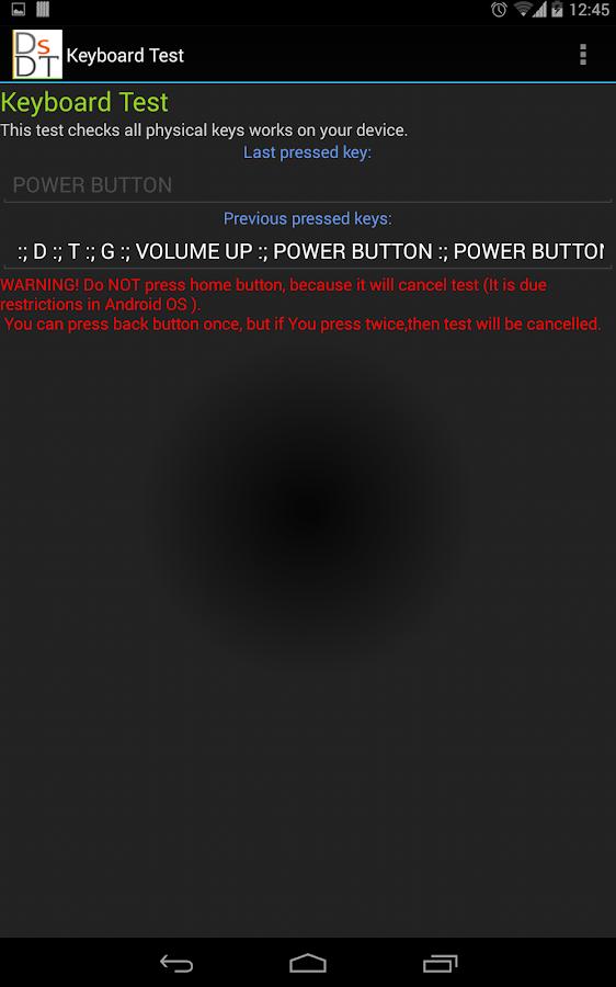 Doms diagnostic tools- screenshot