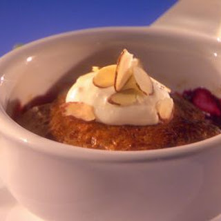 Minted Mango-berry Cobblers With Chai Biscuits And Fresh Ginger Cream