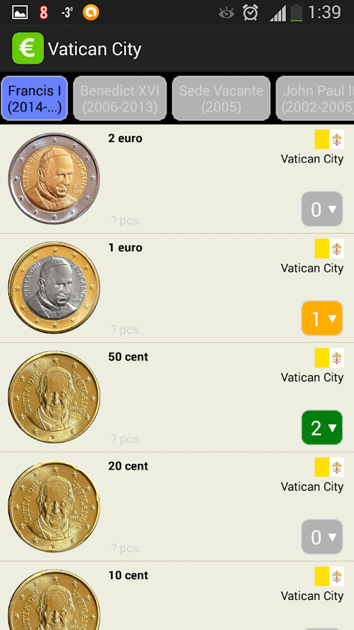 EURik: Euro coins- screenshot