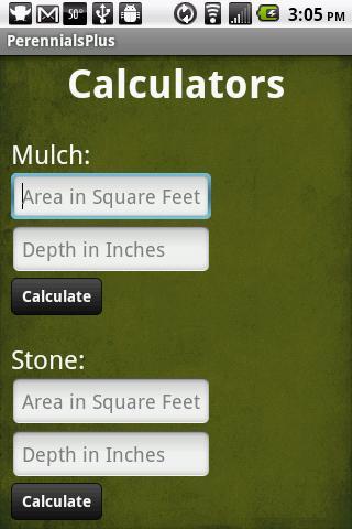 Perennials Plus - screenshot