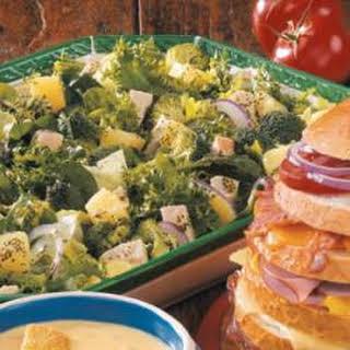 Broccoli Turkey Salad.
