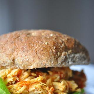 Super Easy Buffalo Chicken Sandwiches