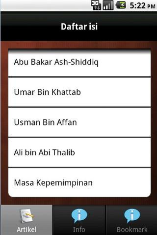 Khulafaur Rasyidin - screenshot