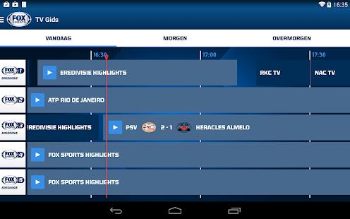 FOX Sports NL Screenshot 20