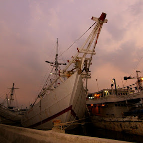 Port of Sunda Kelapa by Firman Musa'ad - Landscapes Travel